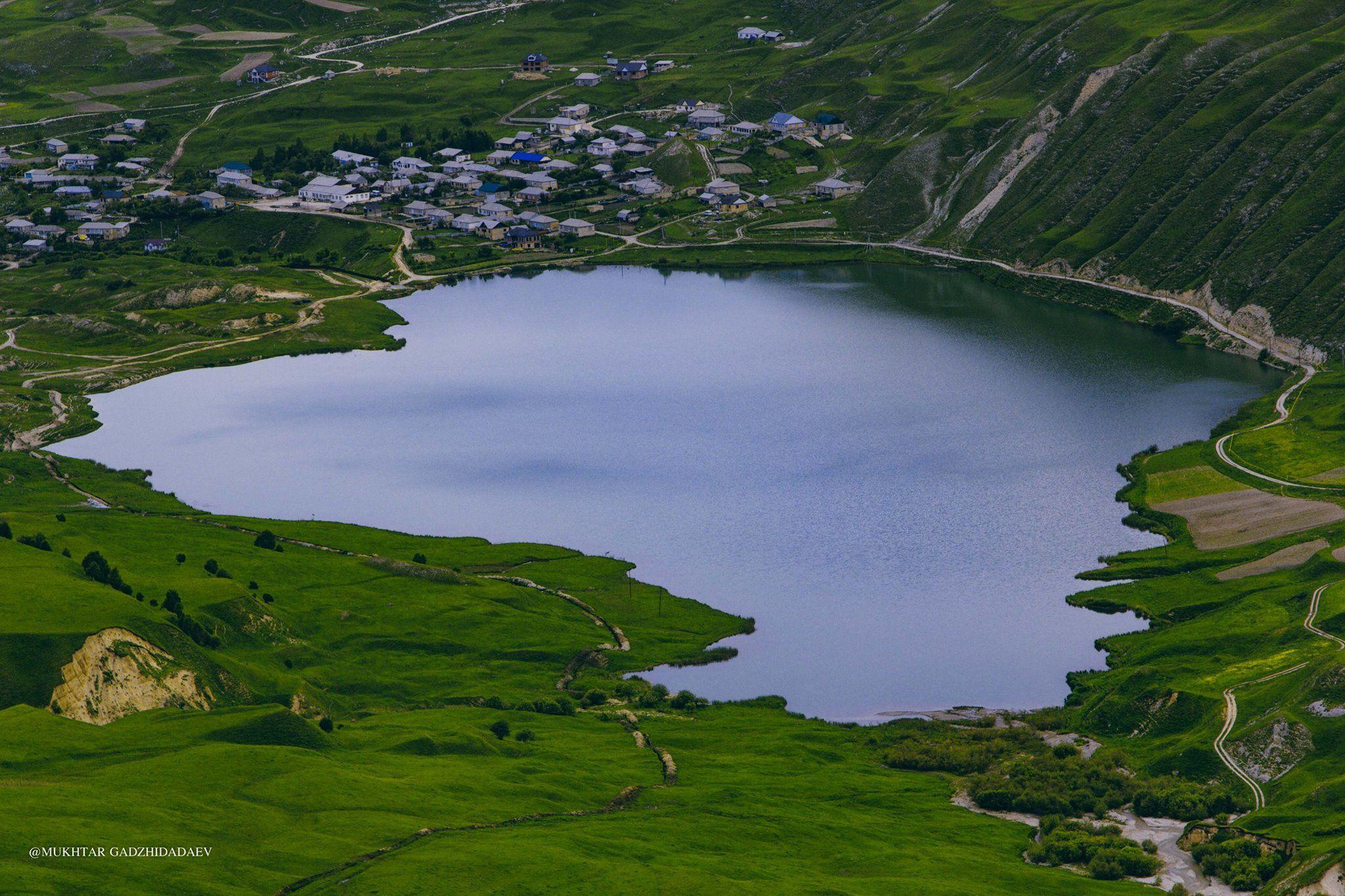 озеро рица высота над уровнем