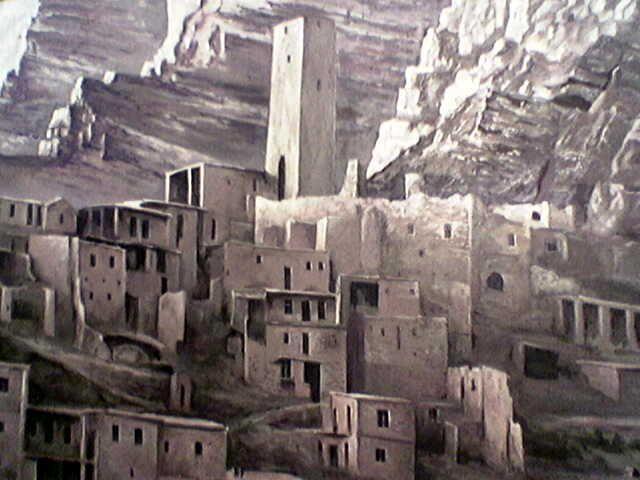 Фото Петроглифы на стенах