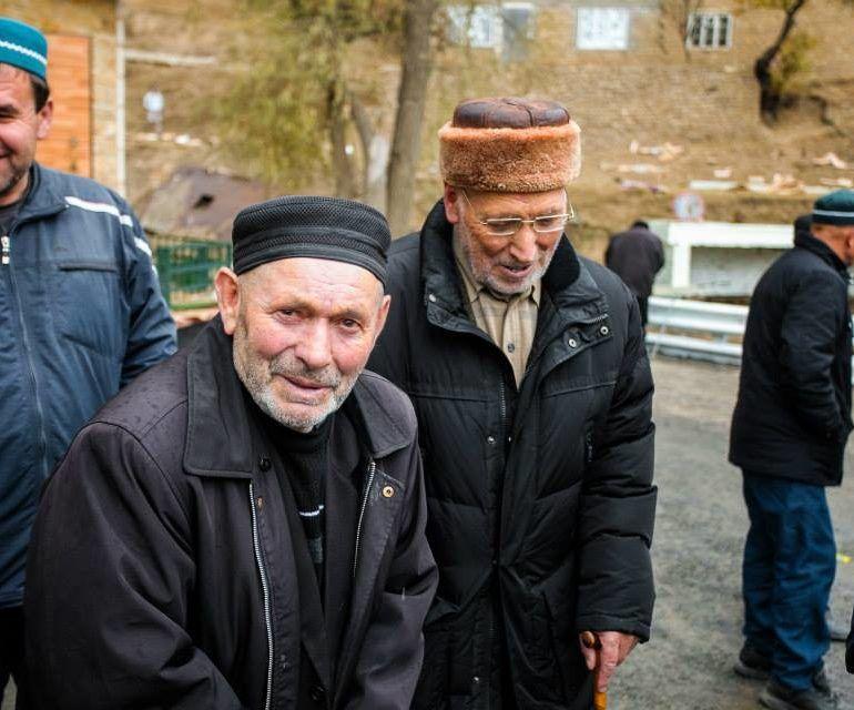 Фото Открытие мечети на одной из улиц в Нижнем Батлухе