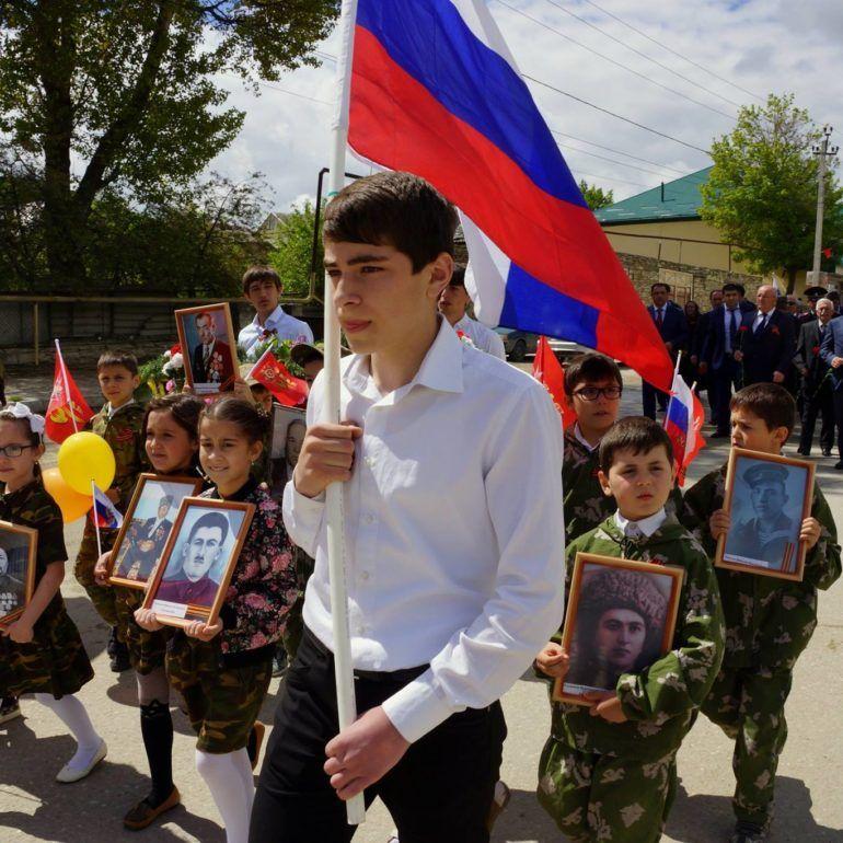 Фото Празднование Дня Победы в Леваши. 2016 год