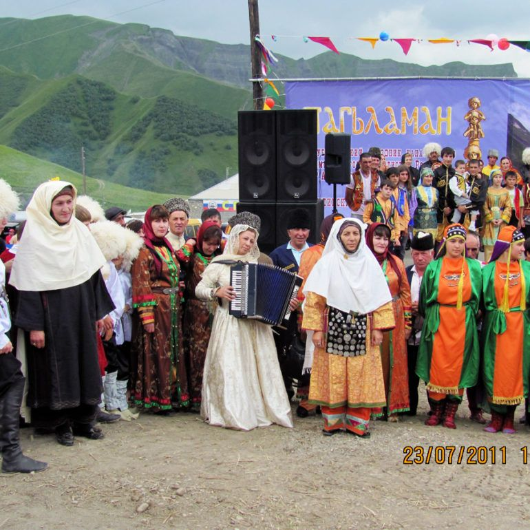 Фото Фестиваль канатоходцев