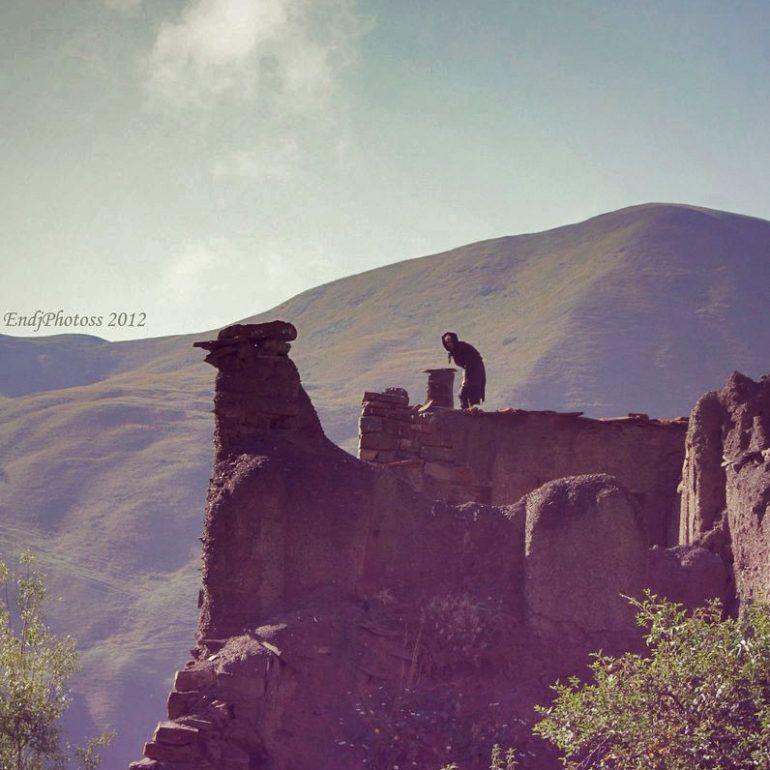 Фото Заброшенный аул Гра