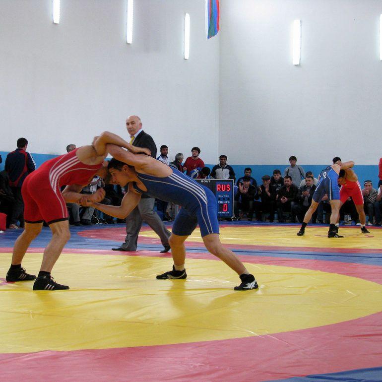 Фото Открытие нового спортзала