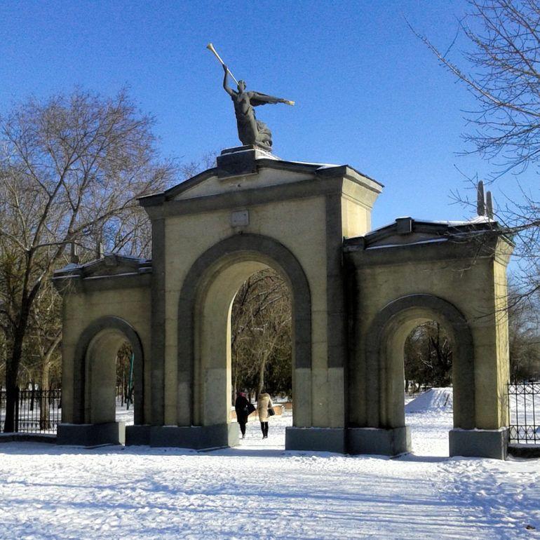 Фото Зимний Кизляр
