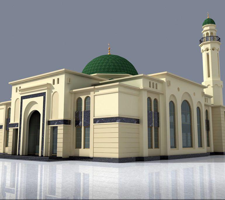 Фото Строительство Джума-мечети