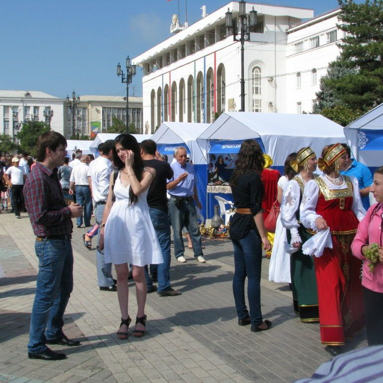 Фото День единства народов Дагестана