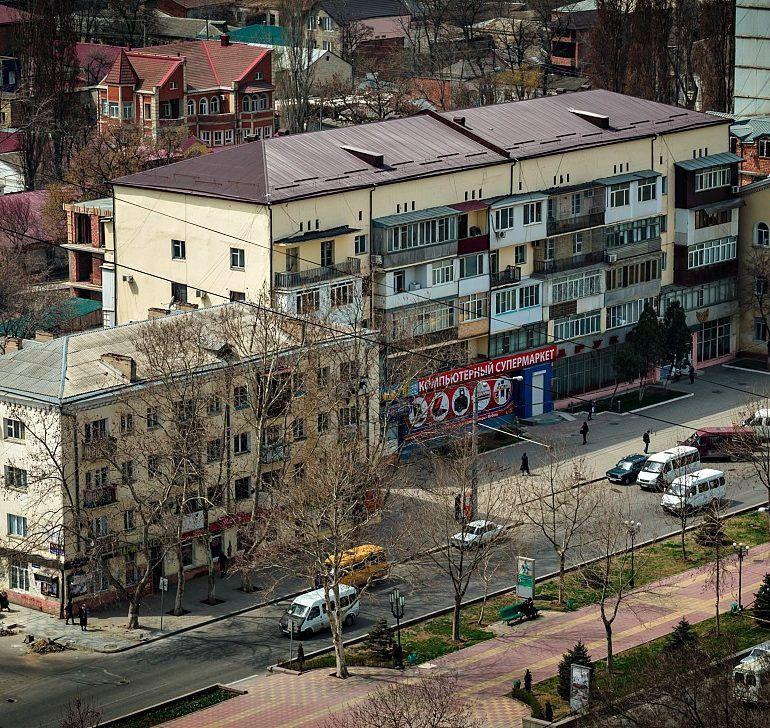 Фото Махачкала с высоты гостиницы «Ленинград»