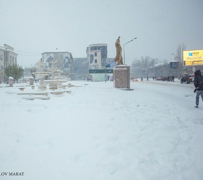Фото Первый снег