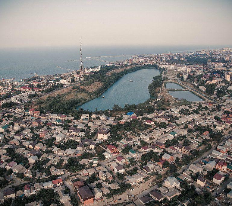 Фотографии махачкала вид города сверху вітання день