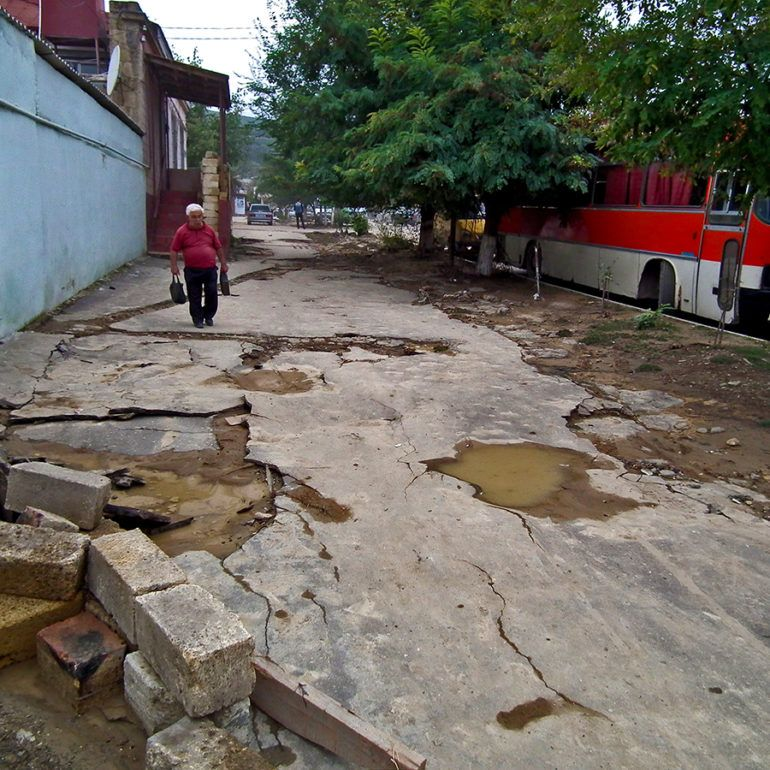 Фото Дербент. Последствия стихии. 10 октября 2012 г.