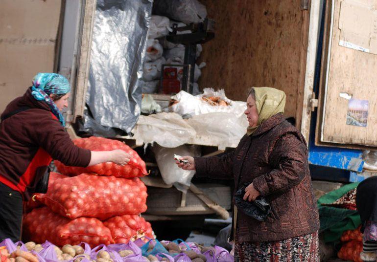 Фото Овощной рынок