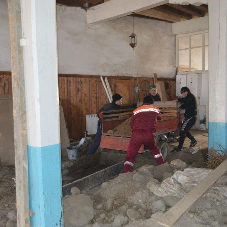 Фото Реконструкция мечети в с. Харахи