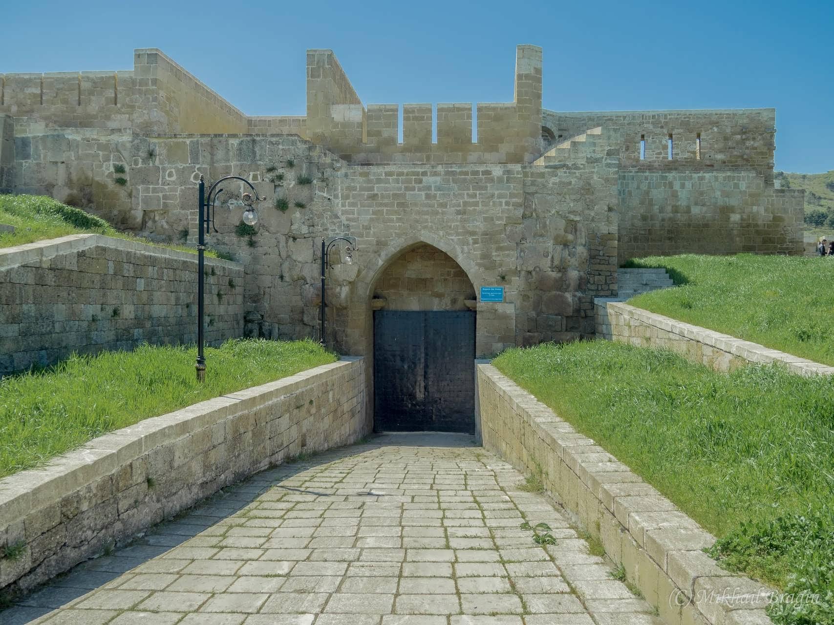 Картинки дербентской крепости, открытка