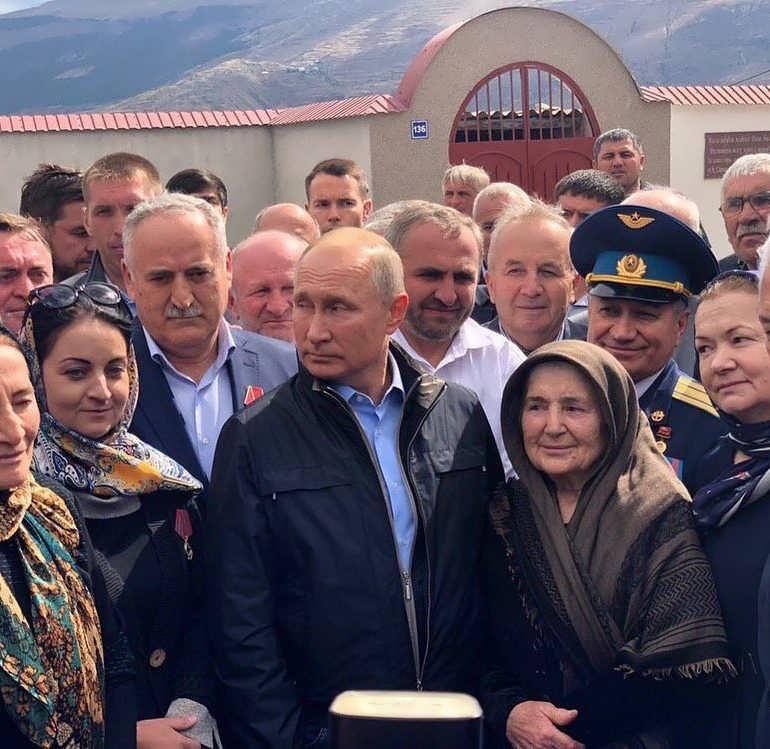 Фото Путин в Ботлихе