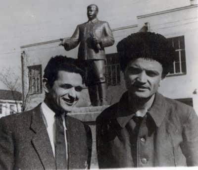 1947-й год. Студент художественной академии