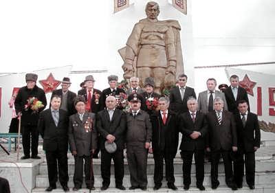 Встреча с ветеранами Великой Отечественной войны. 9 мая 2009 г.