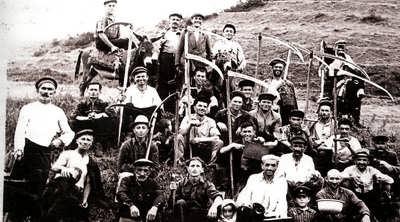 Сенокосная бригада колхоза им. У.Буйнакского, Бакни (1966 г.)