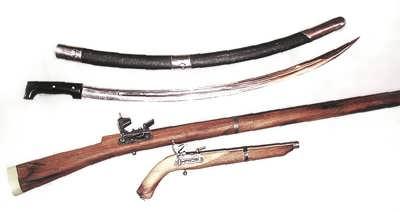 Декоративное оружие харбукского мастера